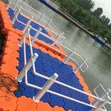 De HDPE Vanace plástico água plataforma flutuante para plataforma de Água