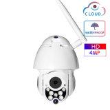 4MP PTZ с высокой скоростью купол беспроводной сети WiFi для использования вне помещений видеонаблюдения водонепроницаемая камера