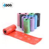 Sacchetti biodegradabili dello spreco del cane