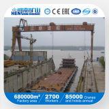 Alta capacidad de elevación Altura de Construcción de Barcos grúa pórtico