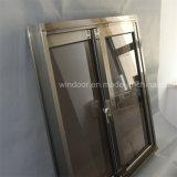 Het Dubbele Glijdende Venster van uitstekende kwaliteit van het Aluminium van het Glas