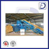2.5 Tonne pro Stunden-Kapazitäts-automatische hydraulische Heu-Ballenpresse