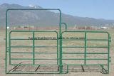 Pvc bedekte de Poort van het Landbouwbedrijf van de Werf van het Vee van 6 Staaf met een laag