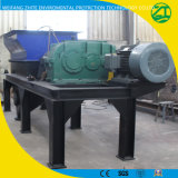 Triturador de eixo único de plástico, triturador de resíduos