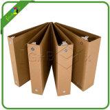 Дружественность к окружающей среде природных коричневый Craft рычага бумаги для сшивания кольцами файла колесной арки