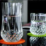 고아한 다이아몬드 위스키 유리제 컵 투명한 수정같은 맥주 유리