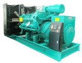 50Hz 800kw Googol Moteur Ensemble de générateur de carburant mixte Gaz Diesel