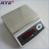 高精度のステンレス鋼の版の電子重量を量るスケール