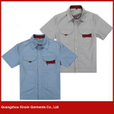 Guangzhou OEM Design Work Clothes Factory Fabricante (W162)