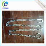 Galvanizado Steel Ring & Hook Cow Chain