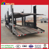 Double Axles Car Transporter Trailer