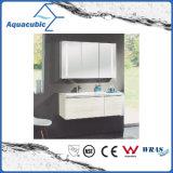 Wall-Mounted туалетный столик с зеркалом со списком кабинета в белый цвет (ACF8930)