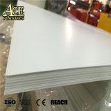 ランプのかさカバーのための反紫外線堅い光沢のある白く堅いプラスチックPVCシート