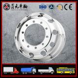 O OEM 6X4 de Cnhtc FAW, caminhão de descarga 6X2 resistente, caminhão do trator, forjou as rodas da liga/borda de pouco peso 9.00X22.5 8.25 da roda