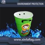 Цветастые напольные ящик компоста/чонсервная банка мусорной корзины/отброса/мусорный бак