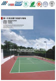 Hot-Sell Pavimentos desportivos de PU de silício para o Tribunal desportivo interior e exterior