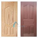 Piel de la puerta del molde de la chapa de HDF con el espesor 2.5m m 3m m 3.6m m 4m m 4.5m m