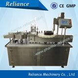 Máquina de rellenar rotatoria automática de la botella de petróleo esencial