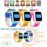 디지털 아이 Sos 외침 Y5를 가진 지능적인 GPS 추적자 시계