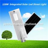 5W-120Wリモート・コントロールカメラシステムが付いている統合されたLEDの太陽センサーの街灯