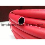 Красный штейновый шланг для подачи воздуха крышки усиленный PVC для машины индустрии