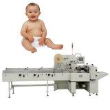 Fraldas para bebé descartáveis máquina de embalagem das fraldas para bebés