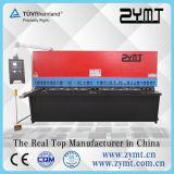 Esquileo hidráulico de la viga del oscilación (QC12K-8*4000) con la máquina de /Cutting del Ce y de la certificación ISO9001