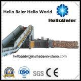 Горизонтальный автоматический пресс для бумаги Bailed картон с конвейера