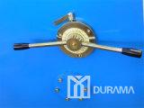Machine de tonte de faisceau hydraulique d'oscillation de QC12y (contrôleur d'Estun E21 OR), coupant la tonte