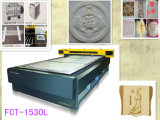 Do couro de madeira de pano da eficiência elevada máquina de estaca de papel do laser do CO2 do MDF