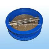 Edelstahl-Rumpf-Oblate-Rückschlagventil federgelagert
