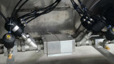 Máquina automática de embalagem de vácuo de folha de alumínio