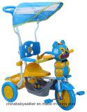 Fabbrica della Cina a buon mercato 3 rotelle 4 in 1 triciclo dei capretti con il rimorchio per il servizio della Russia