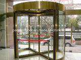 商業建物のためのほとんどの普及した自動ガラス回転ドア
