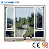 Roomeye populäres Puder-beschichtendes weißes Flügelfenster-Aluminiumfenster