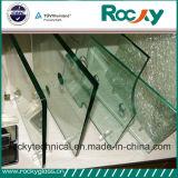 Vidro temperado de bronze rochoso da fábrica 6mm de China para a porta do chuveiro