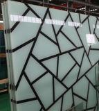 transparente fundida del vidrio Tempered de 4-19m m manchado para la ventana de las puertas