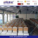 Grande tente de mariage de 300 personnes avec la décoration