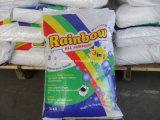 Poudre à laver de détergent de blanchisserie d'approvisionnement