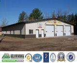 鋼鉄倉庫の建物の構築