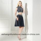 Элегантный короткое замыкание Homecoming платье с кружевом и пайетками Короткое платье Ппзу Openboot