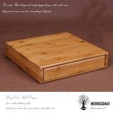 Boîte d'emballage en bois en bois personnalisée Hongdao pour thé ou cadeau Wholesale_L