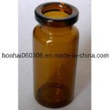 fiole 7ml en verre tubulaire ambre