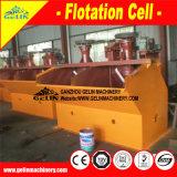 螢石の浮上法の採鉱機械