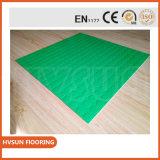 Enclavamiento ecológica de goma exterior patio mosaico de suelos de caucho utilizado la seguridad y el colorido no huele Floorinig de goma