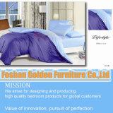 Roupa de cama de tamanho branco liso de alta qualidade (LH-11 #)