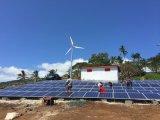 Nouveau design professionnel Seling Module solaire chaud génératrice éolienne de système d'alimentation hybride pour utilisation hors réseau
