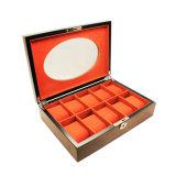 Коробка хранения вахты штейновой отделки окна 10 шлицев деревянная