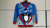 Niños Pingüino Acrílico Jumper - Xmas True Kids Suéter de punto