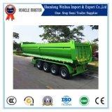 China 4 Lift van de Staart van de Stortplaats van Assen de Achter Hydraulische 80 van de Vrachtwagen van de Tractor Ton van de Aanhangwagen van de Kipper voor Verkoop